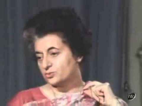 Indira Gandhi's interview on India Pakistan War in 1971