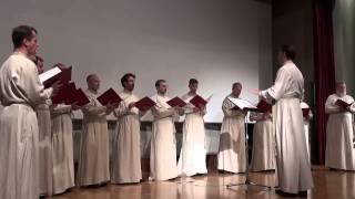 Концерт праздничного мужского хора Свято-Даниловского монастыря в Афинах
