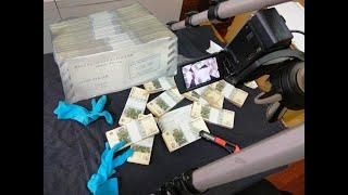 Розпакування пачки банкнот 10 рублів 1997 - тисяча штук, старі модифікації і статистика серій ФФ і ЦЦ