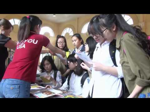 Education USA High School Spring Fair 2015 - Hanoi