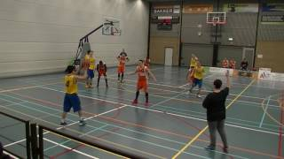 28 january 2017 Rivertrotters U22 vs Faimount U20 70-67 4th period