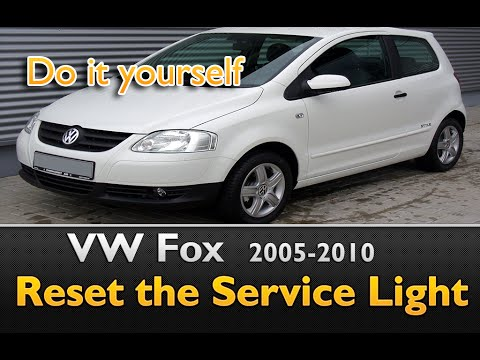 VW Fox Service Light Deactivation guide