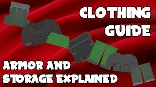 UNTURNED CLOTHING GUIDE (ARMOR + STORAGE)