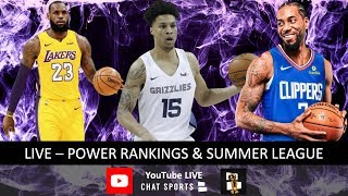NBA Now – Latest NBA News With Jimmy Crowther & Tom Downey (July 16th)