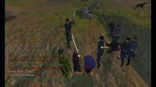 "Mount&Blade. Civil War in Russia (1917-1922) mod. Quick Battle (""Siege"" Attack)"