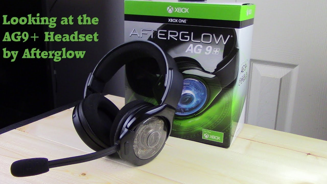 Xbox 1 Afterglow Ag9 Wireless Headset Thoughts And Features Youtube