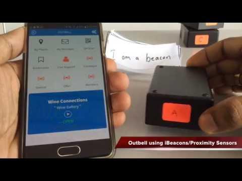 Estimote ibeacon supported Outbell App [Demo-1]