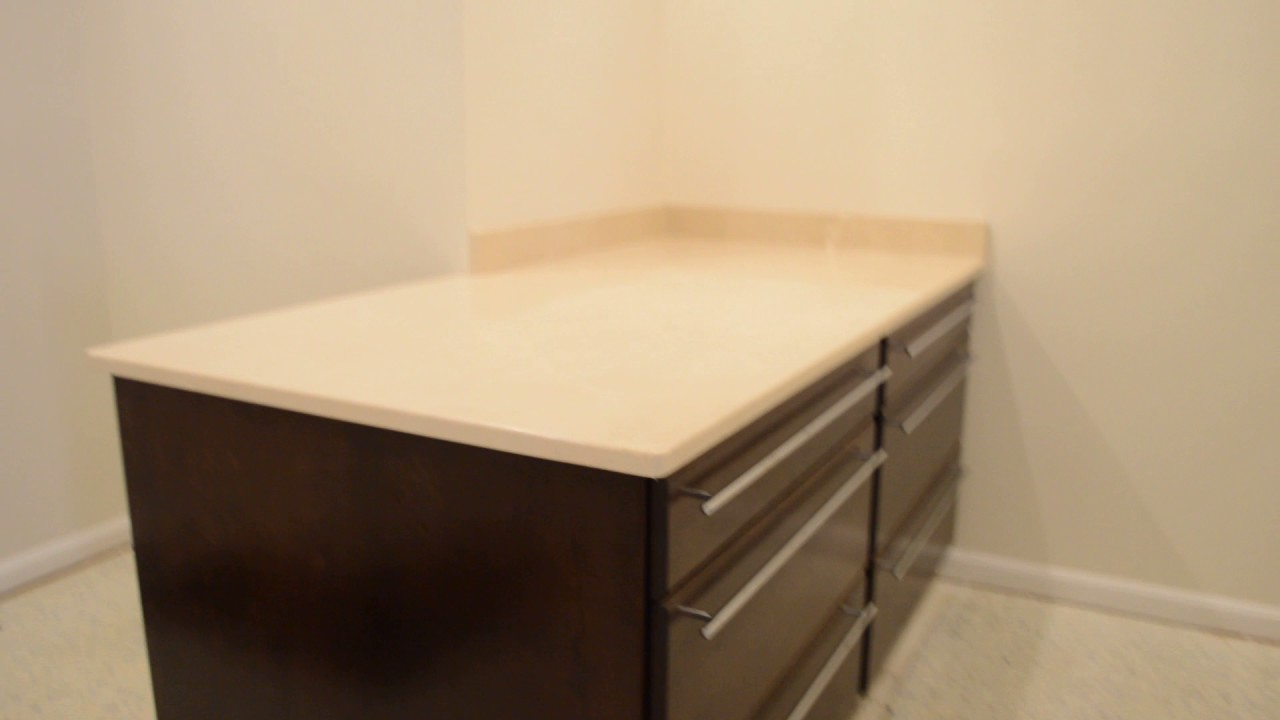 Landsdowne Multi Space Remodel: Walk In Closet With Island Dresser