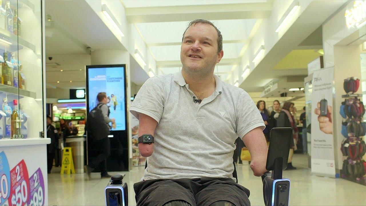 【媒體報導】BBC節目:WHILL助旅客無障礙通行機場