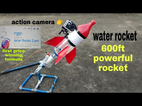 How To Make Water Rocket At Home |powerful Water Rocket | DIY Water Rocket