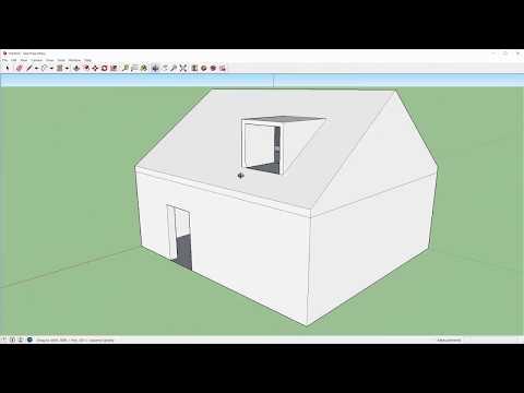 Een Simpel Huisje In Sketchup