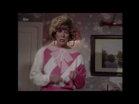 Audrey Shows Alf Everything She's Bought for Christmas - Coronation Street