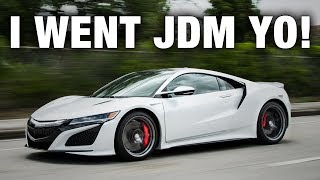 I BOUGHT A $200K HONDA - DID I MAKE A MISTAKE BUYING THE NEW ACURA NSX?!?!