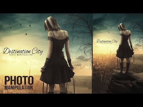 Create a Destination City Photo Manipulation in Photoshop CC