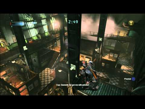 Batman Arkham Origins Predator Challenges Batman Arkham Origins Predator
