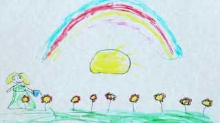 The drawings of Syria children tell a story
