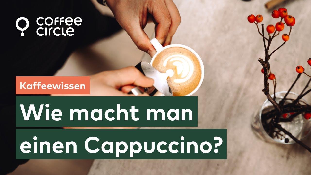 Wie macht man einen Cappuccino? - YouTube