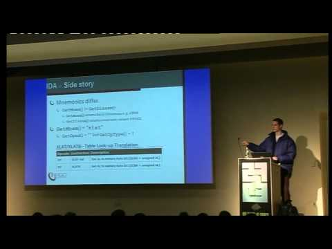 27c3: Code deobfuscation by optimization (en)