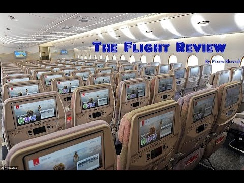 Flight Review| Emirates| Airbus A380| Dubai to Melbourne| EK406| Economy class