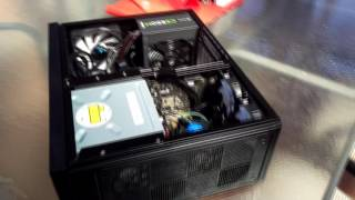 hTPC build - Building in the silverstone GD09