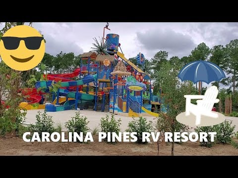 BRAND NEW Carolina Pines RV Resort (campground) In Conway, South Carolina