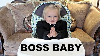 BOSS BABY CHALLENGE!! | THE BOSS RETURNS!