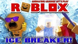 annoying orange plays roblox icebreaker 1