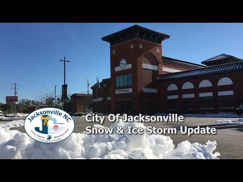 Snow And Ice Storm Response Update - January 5, 2018