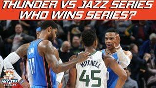 Who Wins Thunder Vs Jazz Series? | Hoops N Brews thumbnail