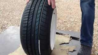 """tyre stretch 8,5"""" 195/45/13"""