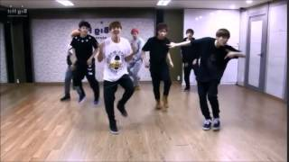 Boy in Luv dance version (slow 50%) - BTS