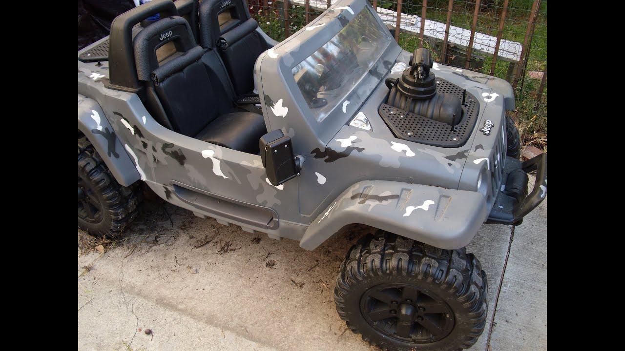 Jeep Hurricane Power Wheels Modifications | www.pixshark ...