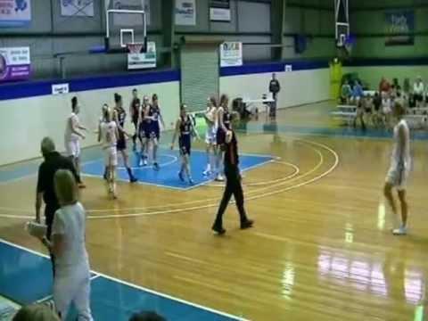 Canberra Capitals Academy v Brisbane Lady Spartans SEABL 16 March 2013
