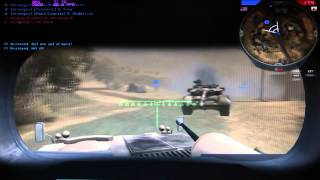 PC Ati HD 3870 1440x900 High Battlefield 2 Gameplay FPS Counter