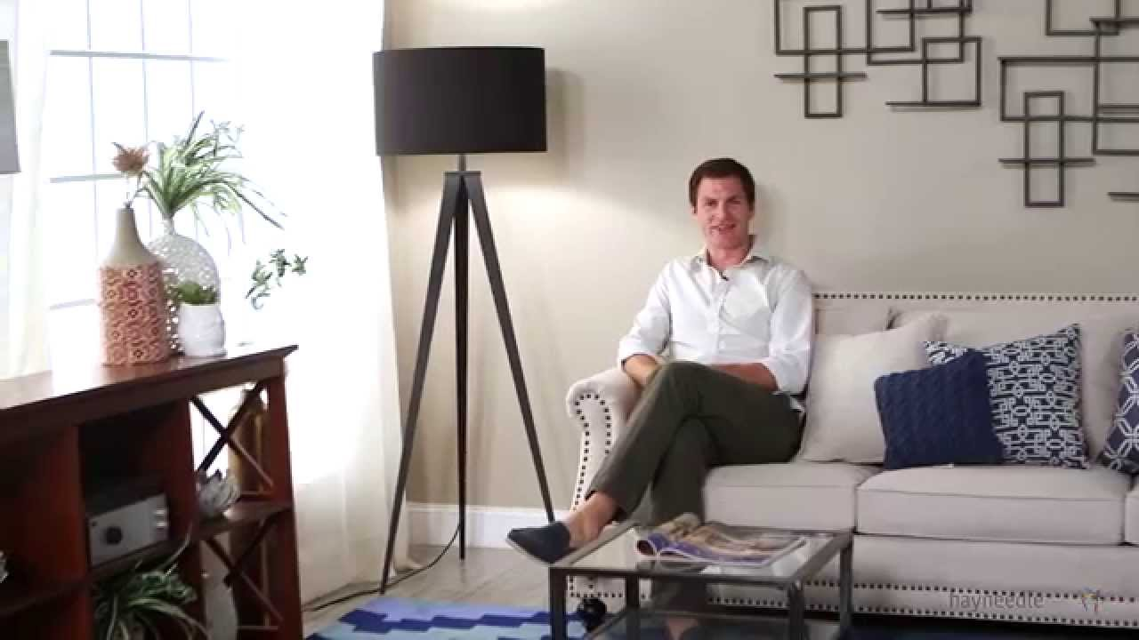 Adesso 6424 01 Director Floor Lamp   Product Review Video   YouTube