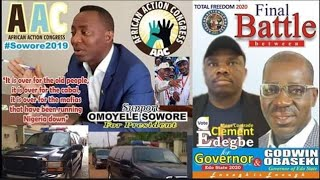 SHOWTIME WATCH EXPLOSIVE MESSAGE, AAC SOWORE 4 PRESIDENT...