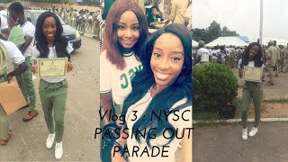 VLOG 3 NYSC PASSING OUT PARADE, Lagos state