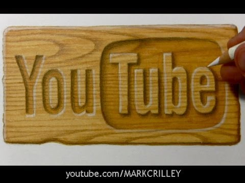 Drawing Time Lapse: Wooden Surface [Marker + Colored Pencil]
