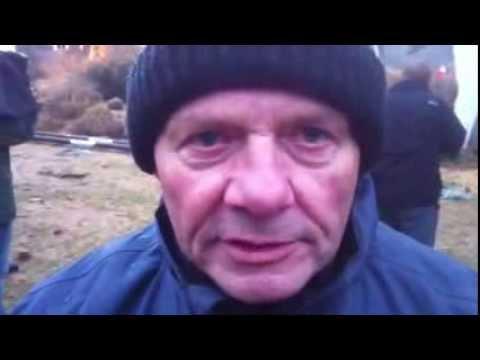 Interview mit dem Sprengmeister in Oranienburg