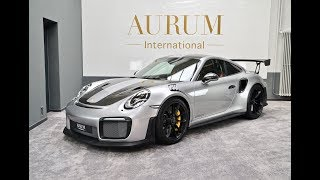 Porsche 911 991 GT2 RS Weissach Silver GT Walkaround by AURUM International