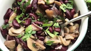 Готовим у Каси салат / салат фасоль / рецепт салата с фасолью / вкусный салат / салат с фасолью