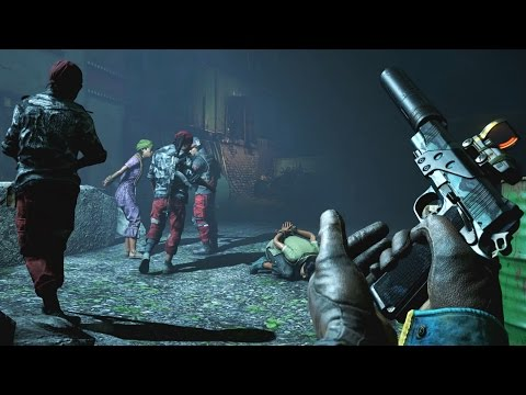 Far Cry 4 - City of Pain Sandman 1911 & throwing knives killer stealth walkthrough GTX980 & 4790k OC