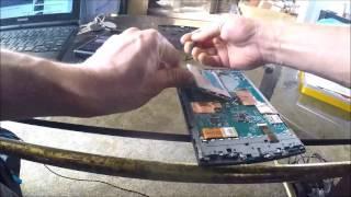 sony ereader prs t2 broken battery not charging repair