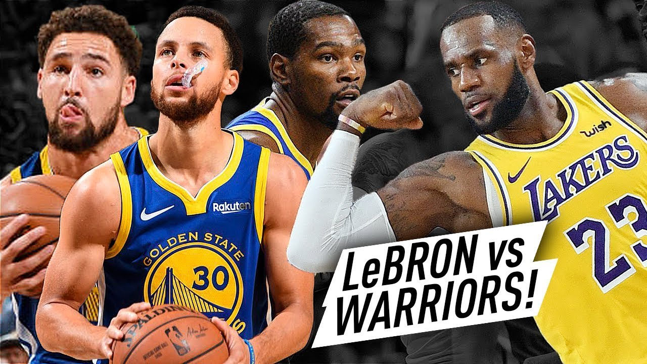 warriors-team-met-new-lakers-lebron-james-epic-battle-highlights-2018-10-10-must-watch