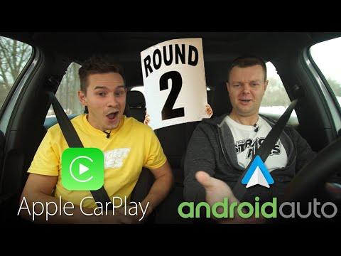 Android Auto vs Apple CarPlay 2018 UPDATE REAL WORLD TEST - Yuri and Jakub