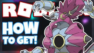 How to get HOOPA | Roblox Pokemon Brick Bronze