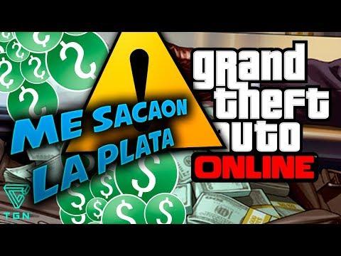 ME SACARON LA PLATA EN GTA ONLINE!!!! BYDARIPLAY EN DIRECTO