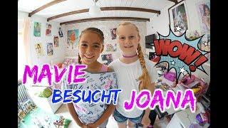 Joana bekommt besuch von MAVIE - Familienvlog - #Vlog#807 - Rosislife