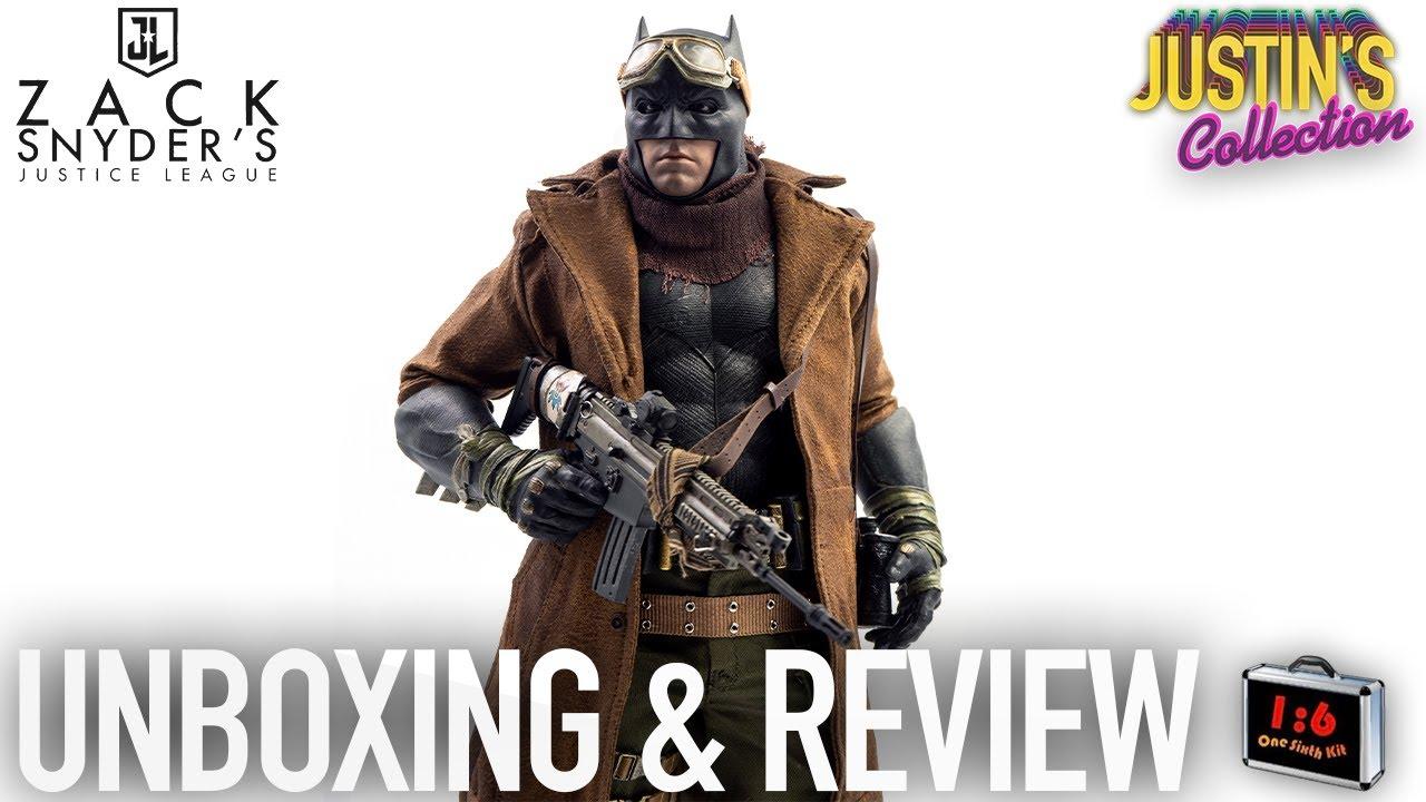 Hot Toys Knightmare Batman Custom Coat OneSixthKit Unboxing & Review