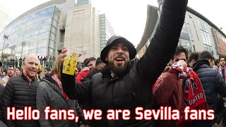 Hello host we are Seville fans